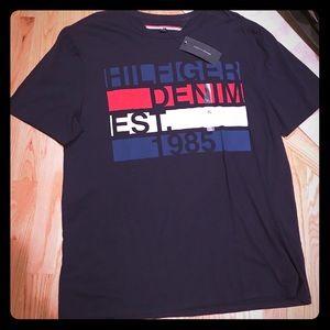 ❤️NWT Tommy Hilfiger 💙 Men's logo T shirt sz XL